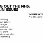 NHS. A handy guide to the 2 main parties principle concerns going into the general election. http://t.co/OJshiKJP7X