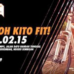 Have you registered? Hurry!! Registration for #FitN9 Run & Ride closes in 4 hours!! Moh Kito Fit feat YBM @Khairykj http://t.co/OSpJa4JLcD