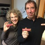 What does it take to get a pic with @sjmorningshow tech Ken Cave? Valentine sweets from NL Chocolate Co. #cbcnl http://t.co/rB0AH6yN8J