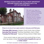 Any #HullHour followers live or work on Beverley Road? You might be interested in this... http://t.co/IzuBlgL3Gb http://t.co/GDKPKBHueB