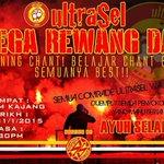 ultraSel Mega Rewang Day bersama @SelangorSelatan  Stadium Kajang Sabtu 31/1/2015 8.30 malam  #JiwaDanMentaliti http://t.co/h0yMx2gD06