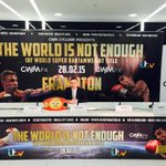 Very proud day for me, next fight to be shown live on ITV @ITV @CWMFX @CWMCyclonePromo http://t.co/NUP3qRb39P