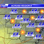 Today: A bit breezy, but mild with a mostly sunny sky. #arwx #mowx http://t.co/5Tz08HjB7r