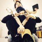 """Got taehyunged, hoseoked, &&  jimined ㅋㅋㅋ """"@BTS_twt: 나와아아아아 http://t.co/nPMq7WxVXH"""""""