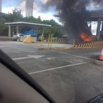 """""""@rpc_radio: Se registra incendio en la Entrada del Corredor Sur por el área de Atlapa. Vía @Marlon_r10 http://t.co/OBBqamGFKg"""" SAMTO"""