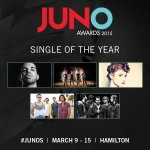We are so happy to be nominated for 5 Juno Awards!!! Amazing :))) Thank you to @TheJUNOAwards and Canada! We love you http://t.co/F5NC1c4Z7W