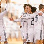 Felicidades al Real Madrid Castilla, q ya es líder d su grupo. Mucho ánimo y a seguir trabajando!! http://t.co/5pD2YZBdbj #LaHoraMagica365