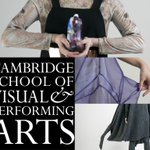 Students at @CSVPA Cambridge are displaying some of their work in @BridgesCamb throughout @cambsstyleweek! #Cambridge http://t.co/Uq2Doy9wOW