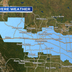 FREEZING RAIN WARNING issued for most of Central AB including Edmonton-Edson-Vegreville-Lloydminster #yegwx #abroads http://t.co/Vxg9ppCtJr