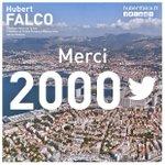 Vous êtes aujourd'hui plus de 2000 à me suivre sur #Twitter. Un grand merci à vous toutes et vous tous. #Toulon #TPM http://t.co/RehsCRla00