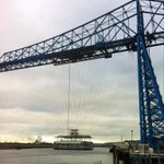 First photograph of the newly renovated @teestransporter gondola during testing this afternoon http://t.co/kLgPfEjwJf