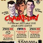 7-8 Februari 2015 Champion di JEC #jogja| 30k | 085729551066 http://t.co/VJAYXWGpVL @jogjaonlen