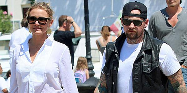 What have newlyweds Cameron Diaz and Benji Madden been up to?