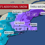 """Additional 12-18"""" of #snow possible for parts of #Massachusetts, #NewHampshire & #Maine. #Juno #BLIZZARDof2015 http://t.co/UnLehf8cJ0"""