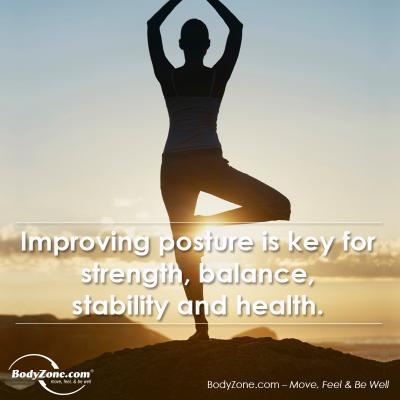 Improving #posture is key for strength, balance, stability & health: http://t.co/IpiOS16hiK #fitness #exercise http://t.co/osoCvMUYgO