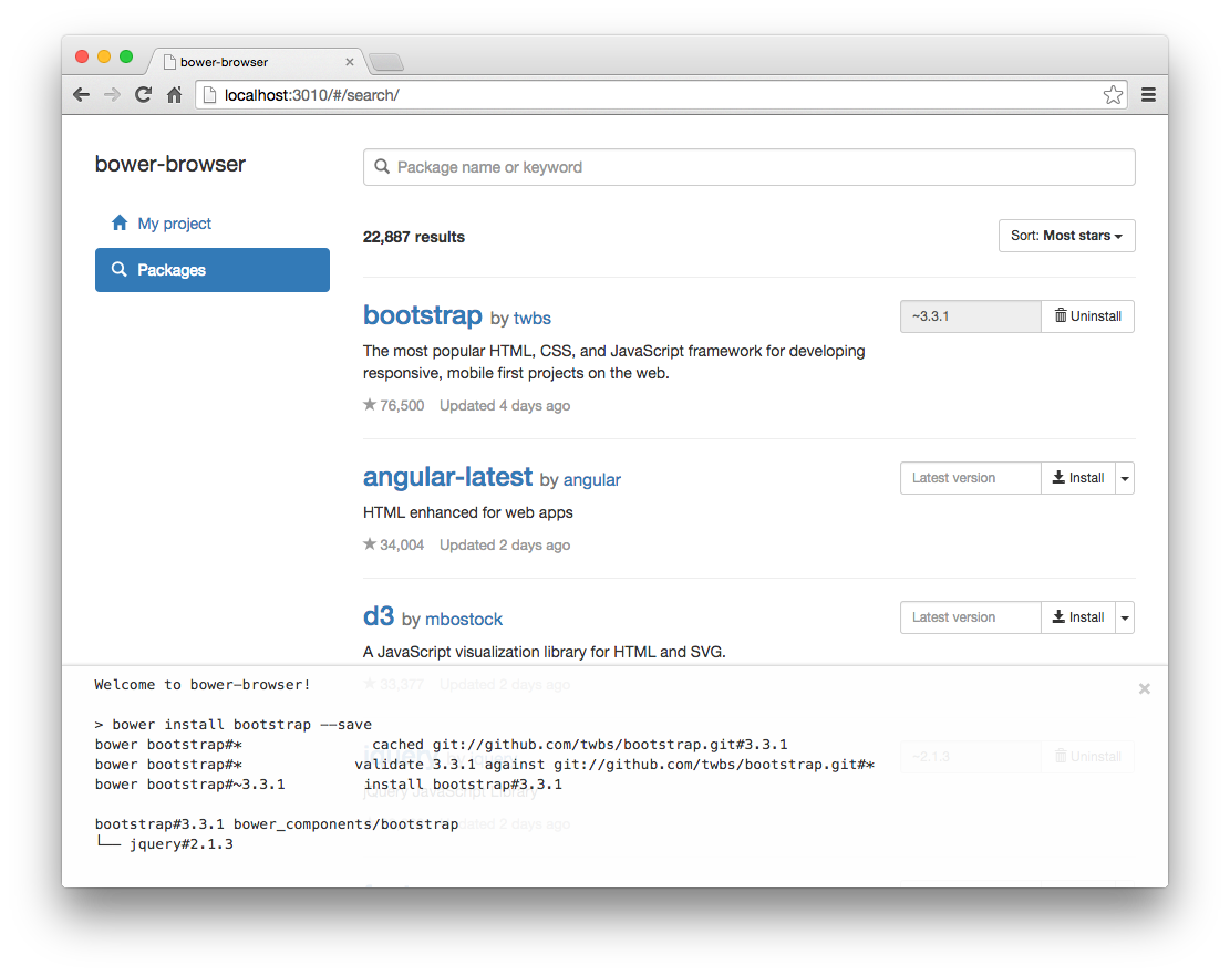 "GUI-based @bower tool ""bower-browser"" developed by @htanjo. https://t.co/RJrG5Gj9iG #bower #npm http://t.co/aAgkBqdZcr"