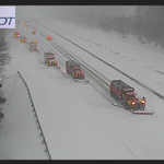 Here's a shot of our crews plowing in tandem formation on I-95 North near Exits 7 and 8 this morning.#JunoRI http://t.co/1JQBiYolo1