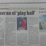 Gracias a @Rafacalvo13 y todo el grupo de deportes de @prensacom por el apoyo a la III Serie Latinoamericana. http://t.co/f02MaaE6ts