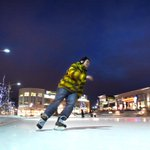 Great night for a skate at Waterloo Public Square. Thomas Mesher, skates laps @citywaterloo http://t.co/vE1L7tlVfP