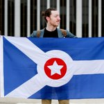 Artist @adam__garland is suggesting a new flag for #FortWayne. Heres what he has in mind: http://t.co/oPstvURelZ http://t.co/C0ronsvrNh