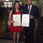 Diputada @AthAthanasiadis recibió sus credenciales el día de hoy en el @tepanama. Vía @PRD_Panama http://t.co/fpp5Z03GBt