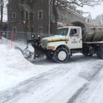 #MBTA crews & vehicles are helping to plow streets and transport salt & sand. #MAsnow http://t.co/RP6Bsnueeb http://t.co/ms8blaIkf9