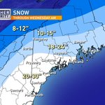 """Yup, thats right, totals could now reach 30"""" in Portland #weatherauhtority #snow #blizzardof2015 http://t.co/LeyOFXk1Mj"""