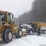 Even plows get stuck! #StayHome, let the plows clear the roads. Please be patient. #blizzardof2015 #Boxborough http://t.co/iVcNLpvYDS