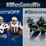 Brady Bunch vs. LOB...who will win? Vote using #PatriotsOFF or #SeahawksDEF #WhosGonnaWin http://t.co/RHZDQY9h16