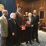 .@ATLHawks Hawks @SteveKoonin and @DWilkins21 pose with Governor Deal. #Hawks http://t.co/dmSXIrXC1h