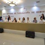 El gobernador @nunezarturo preside ceremonia del XXV Informe de Tabasqueña de Hemofilia A.C. http://t.co/PkAA0s3oiW