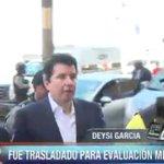 Alejandro Moncada Luna acude al Instituto de Medicina Legal para evaluación médica. http://t.co/9GxZ4DFSqr
