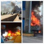 Un auto se incendió en el Corredor Sur http://t.co/JsF61nucJ6