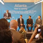 This is going to mean jobs, opportunity, speed, and a big process. #GoogleFiber #Atlanta http://t.co/YePqm80J4v