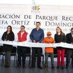 Parque recreativo en Bosques de Peñar #Pachuca ya es una realidad. (Inversión 764 mil pesos): @Paco_Olvera http://t.co/u3vFK6W5Cf