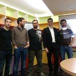 Léquipe du @nantesjug au grand complet pour la première session de lannée ! http://t.co/xOZgK7lADS