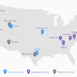 .@Google Fiber confirmed for Atlanta, Charlotte, Nashville and Raleigh-Durham later this year http://t.co/WkLlttAGMR http://t.co/VXVyLjmdee