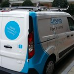 Ladies and gentlemen... Car 1! #GoogleFiber #Atlanta #DevelopingNews http://t.co/JOPprMNU7c