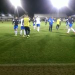 Linfield warming up http://t.co/KrB2FGBvZr