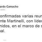 """.@camachocastro """"Ya están confirmadas varias reuniones del expresidente @rmartinelli, con líderes de Estados Unidos"""" http://t.co/5NkVHFeyCM"""