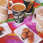 """""""@tacobell: Cinnabon Delights Coffee is a thing. Order it in the app and get a free 4 pack of Cinnabon Delights. http://t.co/woq3MDuFge"""""""