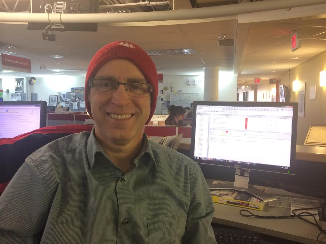 Retweet to win!  Recognize this guy? It's news reader Randal Wheeler. Win a CBC hat like Randal's by retweeting. http://t.co/S4P8UDCa4b