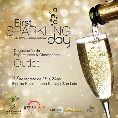 Agendalo ya! este 27 de Febrero estaremos en #SanLuis junto a @Grancasavinos #FirstSparklingDay @RestorantesMza http://t.co/3eArFAiW9N