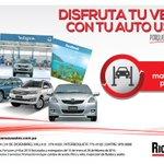 Disfruta tu verano con tu auto usado de @RicardoPerezSA porque el verano dura todo el año. http://t.co/YFhXmhyUGC