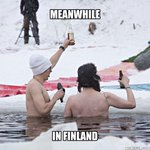 Meanwhile in Oulu, #Finland. Try this in #NYC! #Blizzardof2015 #Blizzard #MeanwhileInFinland #PolarBearPitching http://t.co/Htyh2yzV7z