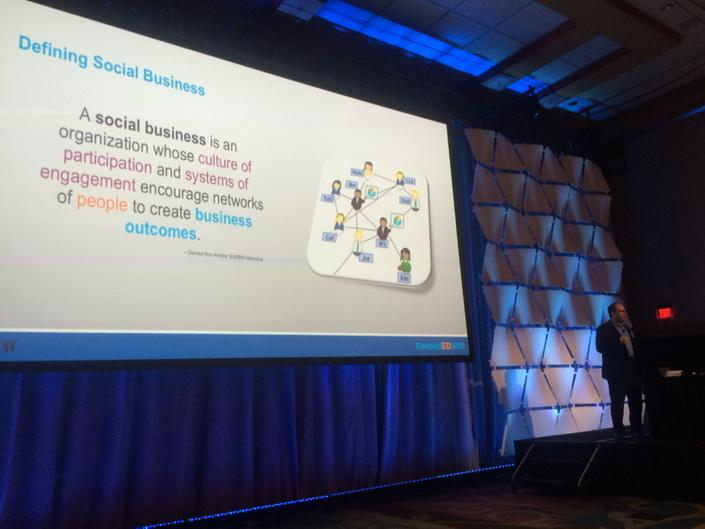Louis Richardson (@inter_vivos): Being a #socialbiz is about creating business outcomes. @edbrill @AndrewGrill #IBMConnectED http://t.co/kflqQOiXGT