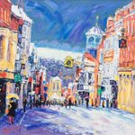 @guildfordhour oh noooo missed it! Wanted to share latest Guildford painting #guildfordhour http://t.co/5SExEgIxtl