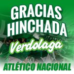 Finaliza el partido, Santa Fe vence al verde y gana la #SuperligaPostobón. Gracias verdolagas por apoyar al verde. http://t.co/jzNnHpc5OT