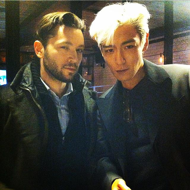 150127 TOP with Film Maker Marco Tessiore http://t.co/1zVEbfWUQd http://t.co/fKv8jqeMHR