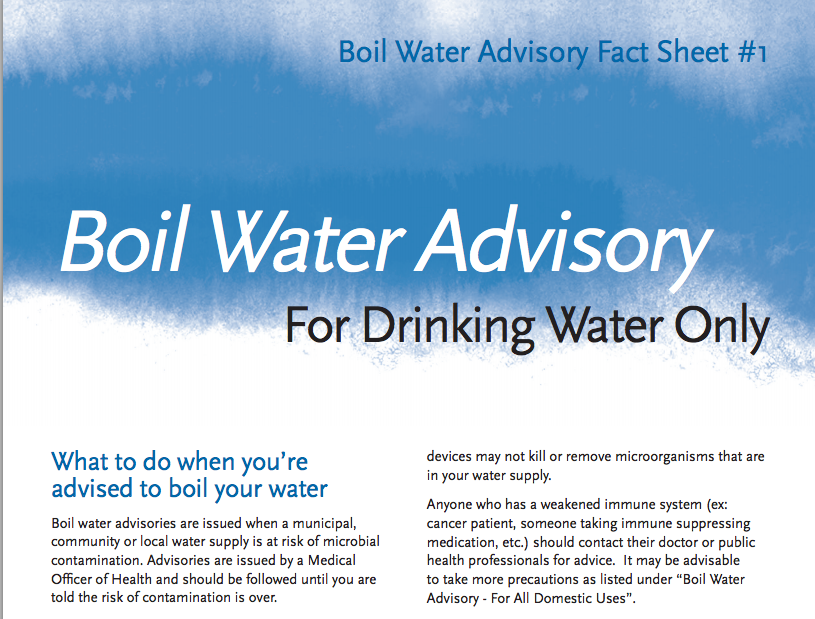 .@cityofwinnipeg information on precautionary measures during a boil water advisory: http://t.co/clk2PqqFbY #bn http://t.co/R3JL2EO5Gv